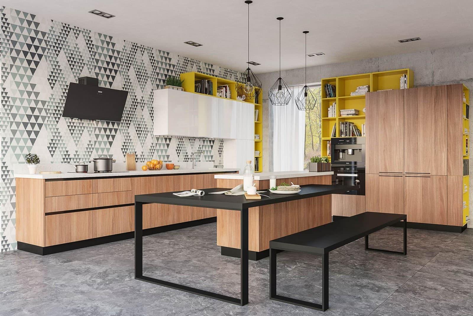 Новая кухня Эйва