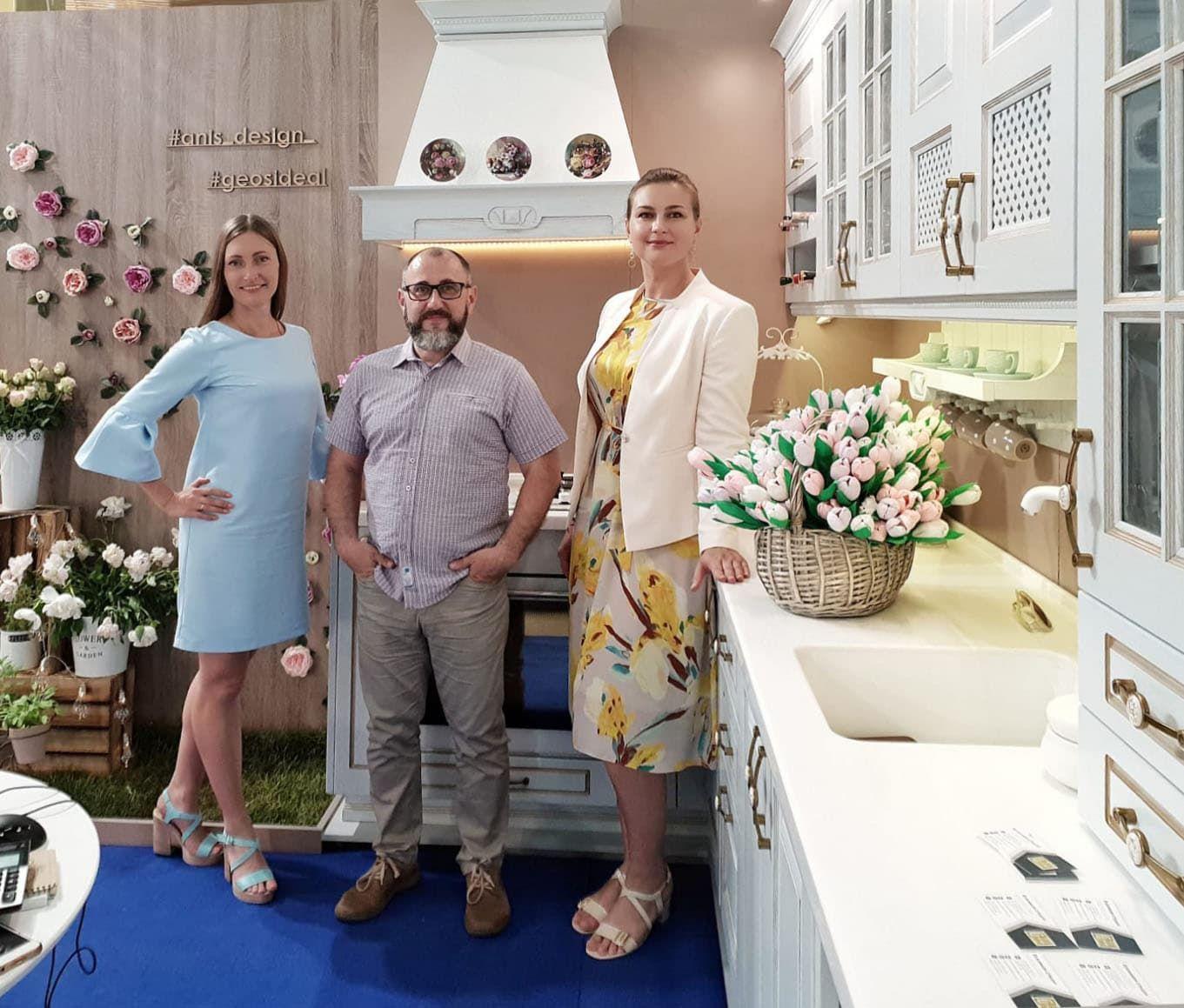 Кухни «ГеосИдеал» на выставке в Одессе