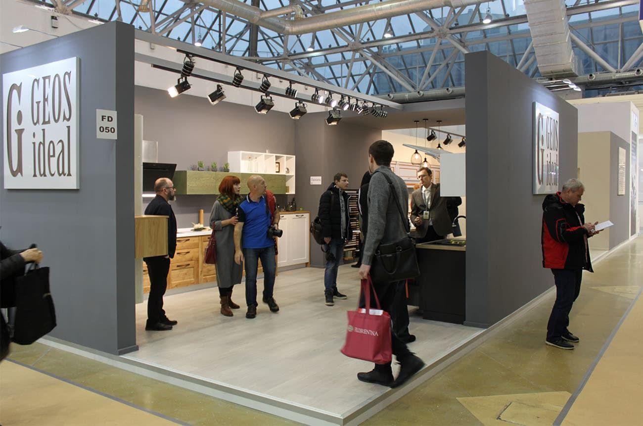 «ГеосИдеал» на выставке «Мебель-2017» в Москве. Ожидаемый успех!